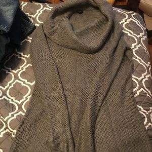 Ann Taylor long  cowl necked sweater